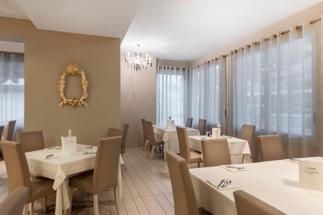 Cucina romagnola all'Hotel Fiamma