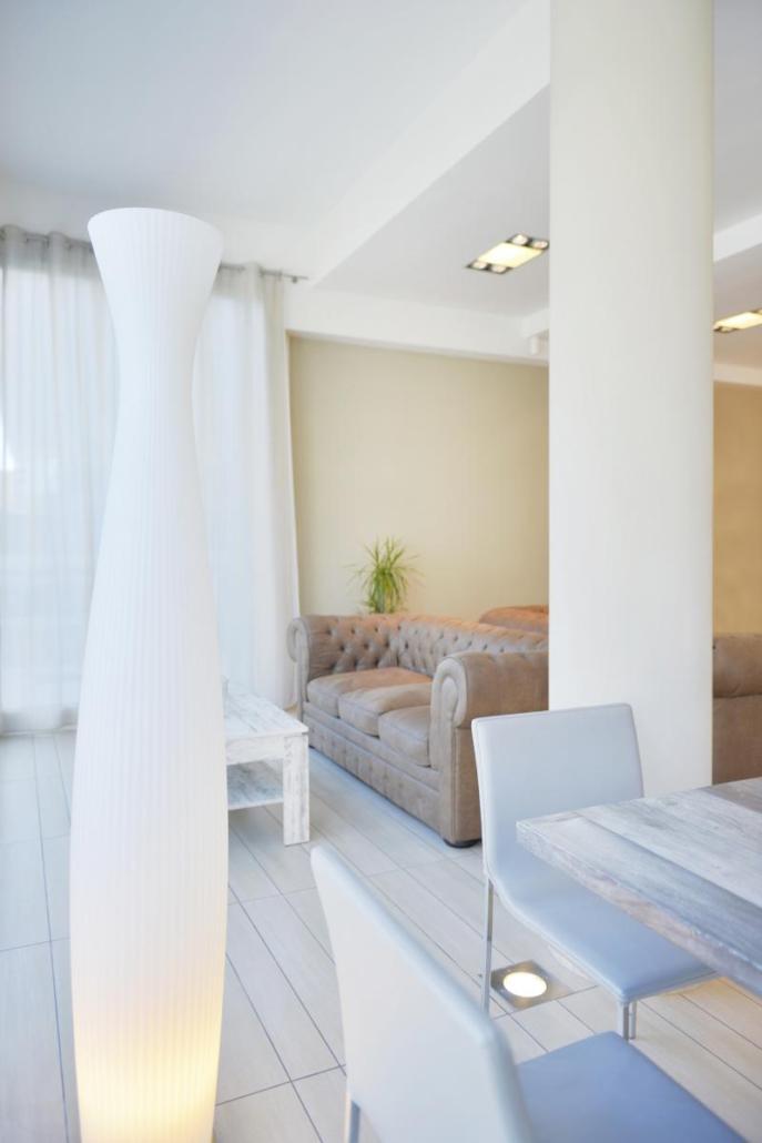 Hall accogliente Hotel FIamma
